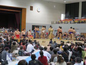 平成30年冬巡業 大相撲行橋京築場所